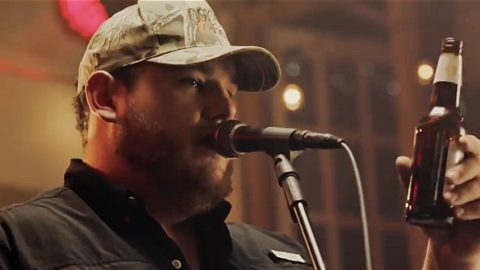 Luke Combs Releases Music Video For Rowdy New Single 'Beer Never Broke My Heart' | Country Music Videos