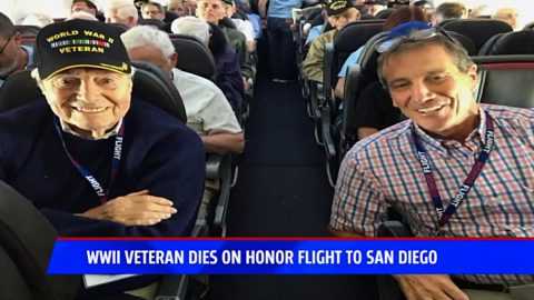 WWII Veteran Dies Minutes Before Plane Lands On Trip Back From Memorial Tour | Country Music Videos