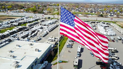 """Camping World Sued After Refusing To Take Down """"Gigantic"""" American Flag 