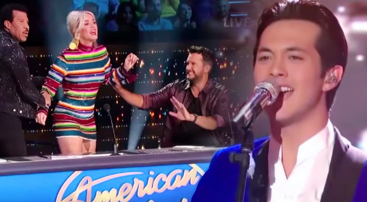 Laine Hardy Makes Katy Perry Rush The Stage Over 'Johnny B. Goode' Cover On 'Idol' Season 17