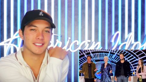 Laine Hardy Shares Hidden Feelings About Spontaneous 'Idol' Audition | Country Music Videos