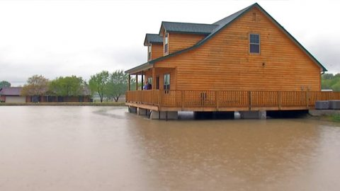 Man Builds Home Over Pond So He Can Fish From His Living Room | Country Music Videos