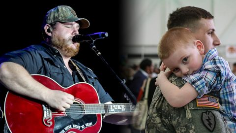Luke Combs Drops Emotional New Song Every Military Family Can Relate To | Country Music Videos