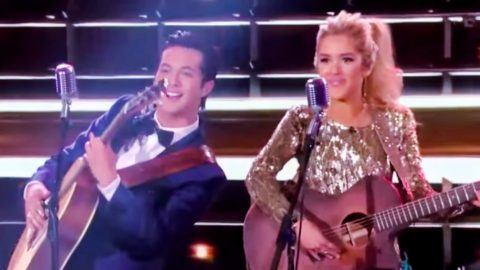 Laine Hardy Is Not Dating Fellow 'Idol' Laci Kaye Booth, He Says On Instagram | Country Music Videos