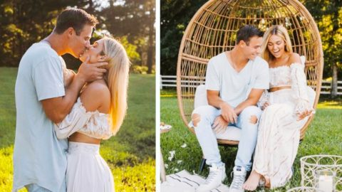 Sadie Robertson Shares More Photos Of Magical Proposal | Country Music Videos