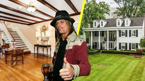 A Look Inside Kid Rock's Old Michigan Mansion   Country Music Videos