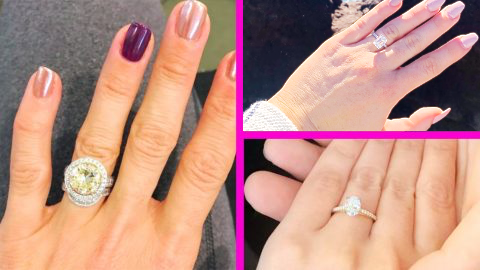 11 Photos Of Engagement Rings Worn By Country Singers & Their Significant Others | Country Music Videos