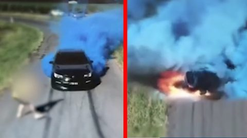 Gender Reveal Goes Horribly Wrong When Guy Doesn't Let Off Gas | Country Music Videos