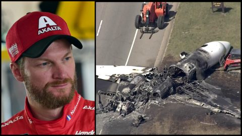 Pilots Credited For Saving Dale Earnhardt Jr. And His Family From Fiery Crash | Country Music Videos