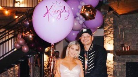 Kane & Katelyn Brown Reveal Their Baby Girl's Name Is 'Kingsley' | Country Music Videos