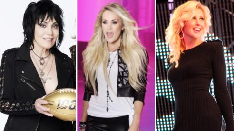 Joan Jett To Become Oldest Sunday Night Football Singer In History | Country Music Videos