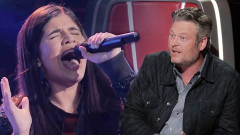 "Blake Shelton Calls 15-Year-Old 'Voice' Singer's Blind Audition ""Perfect"" 