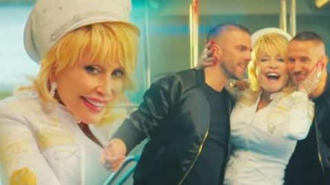 "Dolly Parton Has A Song Called ""Faith"" Including Electronic Duo Galantis | Country Music Videos"