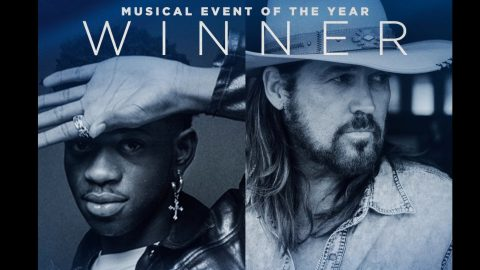 "Billy Ray Cyrus & Lil Nas X's ""Old Town Road"" Wins CMA Award For Musical Event 
