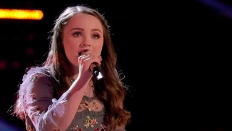 'Voice' Viewers Ask Team Blake's Kat Hammock To Sing Hymn 'I'll Fly Away' | Country Music Videos