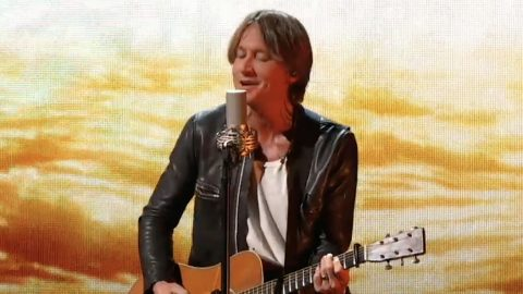 """Keith Urban Performs His 40th Top Ten Hit """"We Were"""" At CMA Awards 