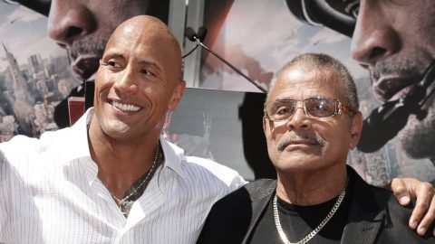 Dwayne 'The Rock' Johnson's Father, WWE Hall of Famer Rocky Johnson, dies at 75 | Country Music Videos