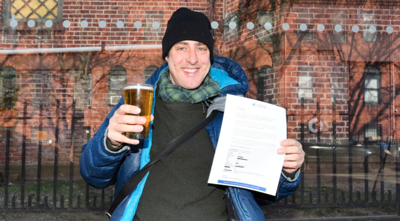 Brooklyn Man Files Registration To Have Beer As His Emotional Support Animal