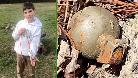 Kid Finds Live Grenade Without Pin While Magnet Fishing – Officials Detonate It | Country Music Videos