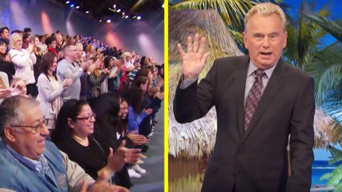 Pat Sajak Receives Standing Ovation Upon 'Wheel Of Fortune' Return | Country Music Videos