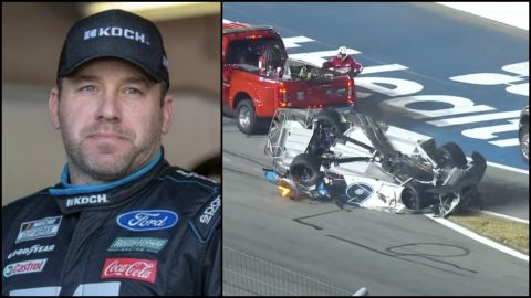 Ryan Newman Confirms That He Suffered Head Injury In Daytona 500 Crash | Country Music Videos