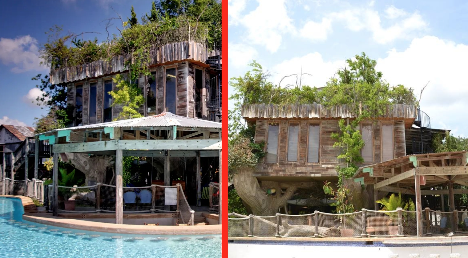 Texas Tree House AirBnb Has Wrap-Around Pool & Is Just 5 ...