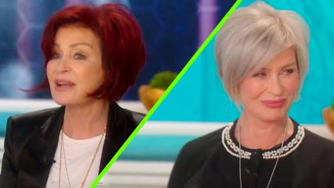 Sharon Osbourne Debuts New Platinum Hair After 18 Years As A Redhead | Country Music Videos