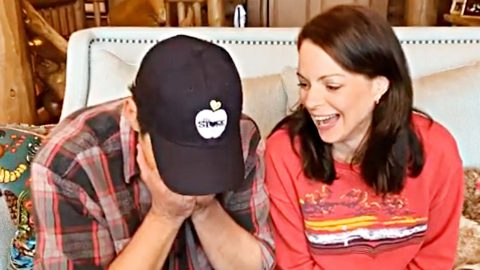 Brad Paisley & Wife Kimberly Attempt To Film COVID-19 PSA & End Up With Blooper Reel | Country Music Videos