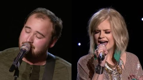 'Idol' Contestant Botches 'Don't You Wanna Stay' Duet, Asks Judges To Give His Partner A Chance | Country Music Videos