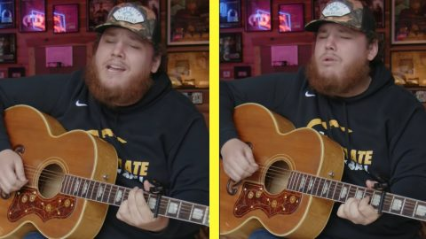 "Luke Combs Covers Chris Stapleton In His Response To ""The Deep Cuts Challenge"" 