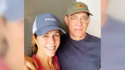 Tom Hanks & Rita Wilson Share First Photo Since Coronavirus Diagnosis | Country Music Videos