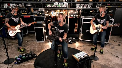 Keith Urban, Keith Urban and Keith Urban Perform 'Higher Love' For Benefit Concert   Country Music Videos