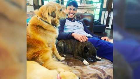 Miranda Lambert Posts Photos Of Husband Brendan With Their Dogs   Country Music Videos