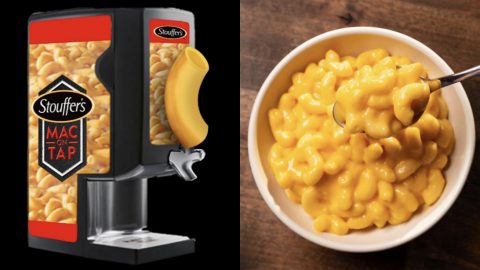 Stouffer's Creates Tap That Dispenses Mac & Cheese | Country Music Videos