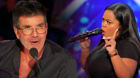 """Singer Performs """"Redneck Woman"""" On AGT – Simon Says She Has A """"Great, Great Voice"""" 