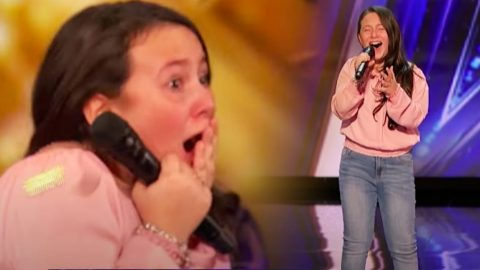 """10-Year-Old AGT Contestant Earns Golden Buzzer For Singing """"Shallow"""" From """"A Star Is Born""""   Country Music Videos"""