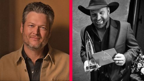"Blake Shelton Gives His Opinion Of Eliminating Garth From ""Entertainer Of The Year"" 