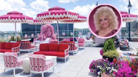 Dolly Parton-Inspired Rooftop Bar Opens In Nashville | Country Music Videos