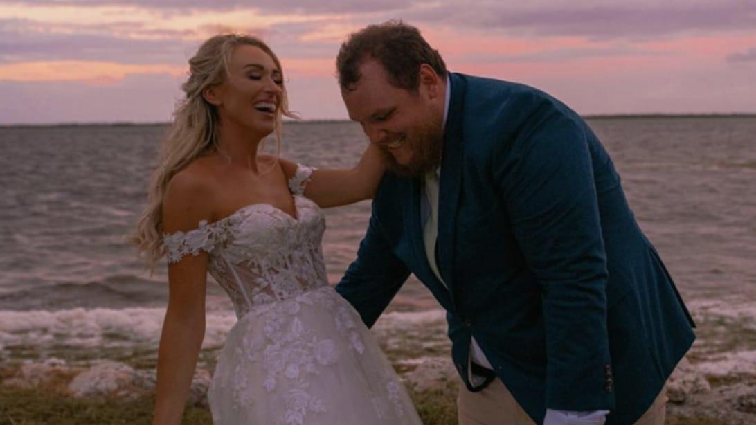 Luke Combs Marries Nicole Hocking In Florida Country Rebel