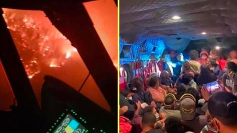National Guard Saves 200+ People Surrounded By Fire | Country Music Videos