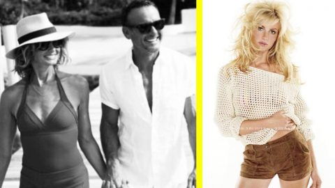 Tim McGraw Wishes Faith Hill A Happy Birthday With Throwback Photo | Country Music Videos