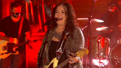 "Ashley McBryde Sings ""Martha Divine"" During CMT Music Awards 