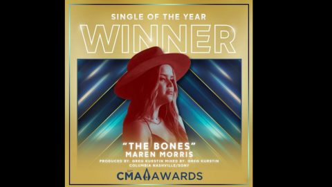 """""""The Bones"""" By Maren Morris Named CMA Single Of The Year   Country Music Videos"""