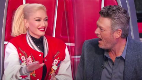 "Gwen Steals Country Artist From Team Blake During ""Voice"" Knockouts 