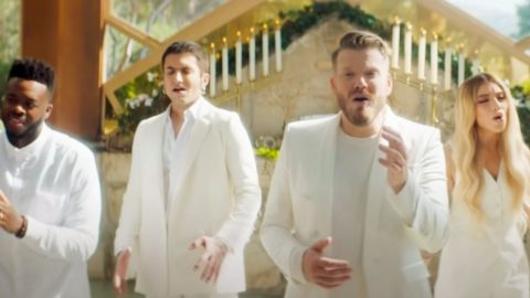 """A Cappella Group Pentatonix Shares Performance Of """"Amazing Grace"""" 
