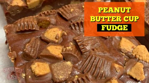 How To Make Peanut Butter Cup Fantasy Fudge   Country Music Videos