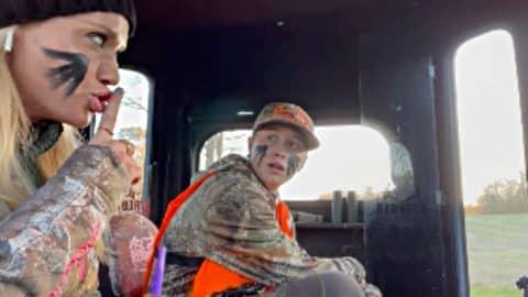 "Luke Bryan's Wife Plays Hunting Joke on Son For ""Pranksmas""   Country Music Videos"