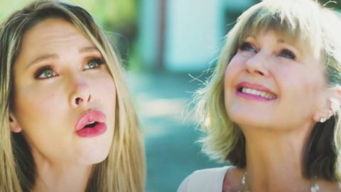 Olivia Newton-John Releases New Song With Daughter Chloe | Country Music Videos