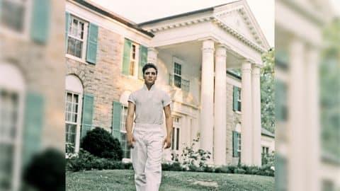 "Lisa Marie Presley Gives Oprah Tour Of ""Secret"" Graceland Room   Country Music Videos"