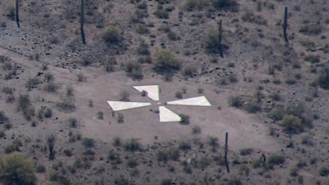 Mystery Behind The Giant Xs In Arizona Desert Solved   Country Music Videos